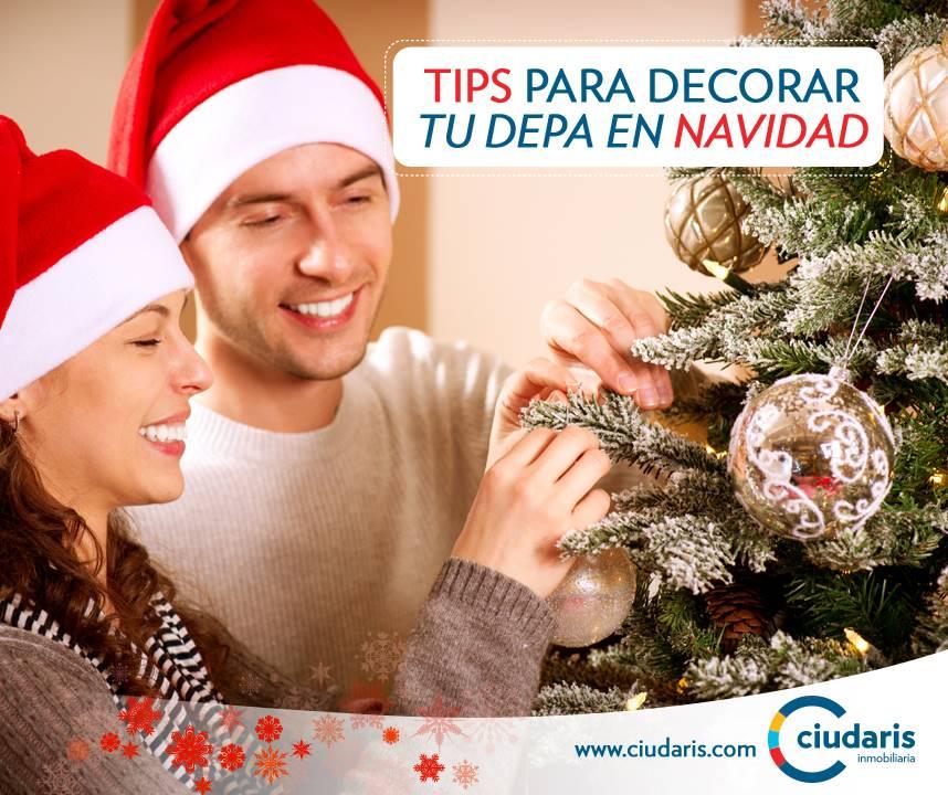 decoracion departamentos navidad
