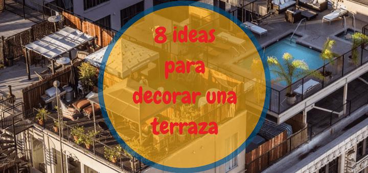 8 ideas decorar terraza Ciudaris 1