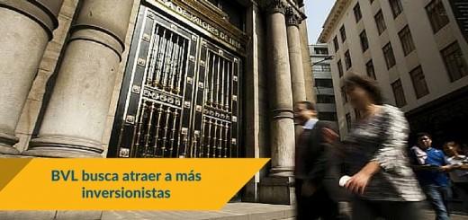La Bolsa de Valores de Lima atraerá a más inversionistas