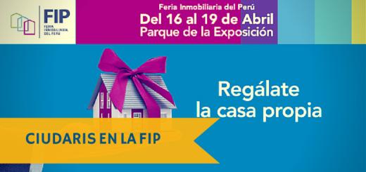 Ciudaris en la 2° edición de la Feria Inmobiliaria del Perú