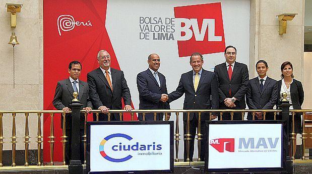 Inmobiliaria Ciudaris emite bonos por US$1.2 millones en la Bolsa de Valores de Lima
