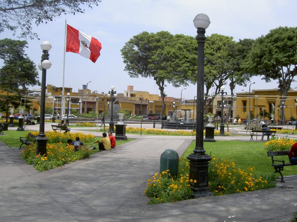 Plaza de Armas de Pueblo Libre