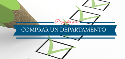 Requisitos para comprar departamento