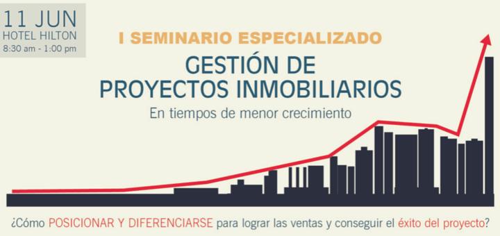 Ciudaris presente en el I Seminario Especializado de Gestión de Proyectos Inmobiliarios