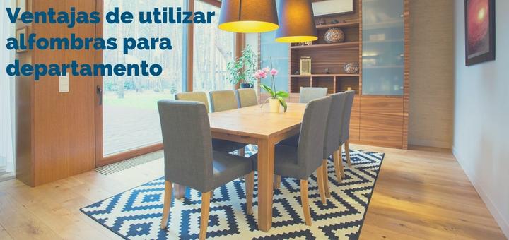 Cu l son las ventajas de utilizar alfombras para departamento for Alfombras de living