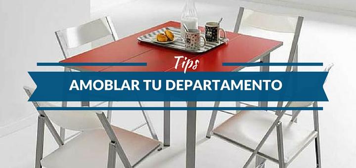 ¿Qué cosas debes comprar primero al amoblar tu departamento?