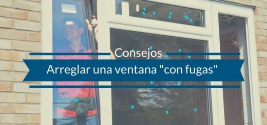 arreglar una ventana departamento de chiclayo