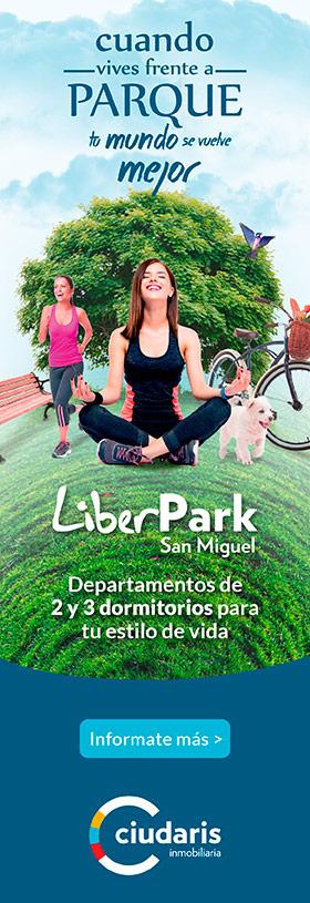 LiberPark, departamentos san miguel