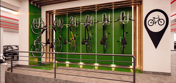 beneficios estacionamiento bicicletas ciudaris inmobiliaria