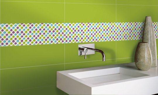 Baños Con Azulejos Verdes:Diez consejos para decorar el baño de tu departamento