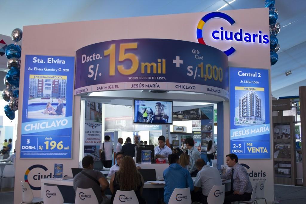 La inmobiliaria Ciudaris presente en la Feria Inmobiliaria del Perú 2016 2