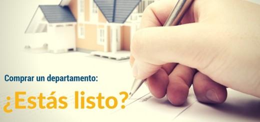 ¿Estás listo para comprar un departamento?
