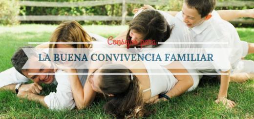 quince consejos para vivir en armonía familiar
