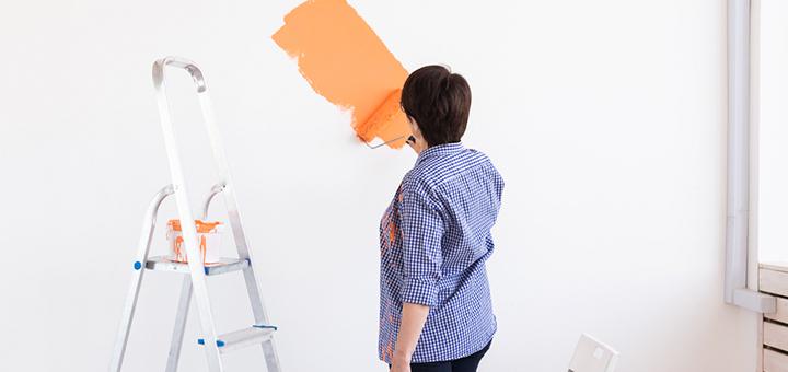consideraciones repintar paredes