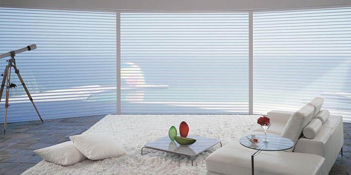 cortina Silhouette para departamento nuevo