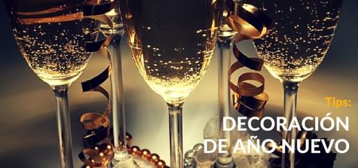 ¿Cómo decorar tu departamento para este Año Nuevo?