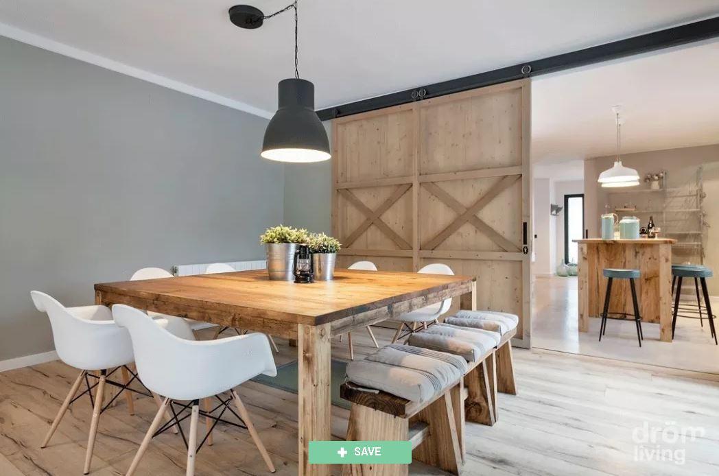 Cómo dividir los espacios de tu departamento de una habitación