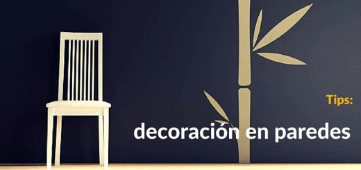 Departamento: atractivas ideas de decoración en paredes