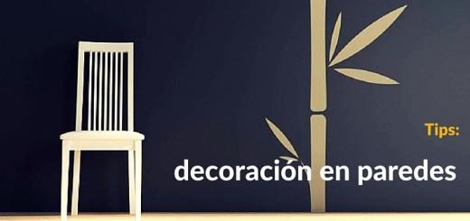 Departamento: atractivas ideas de decoración en paredes