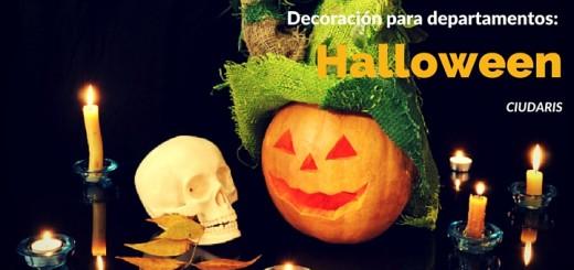 Excelentes decoraciones de halloween para tu departamento