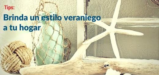 Decoración de departamentos: brinda un estilo veraniego a tu hogar