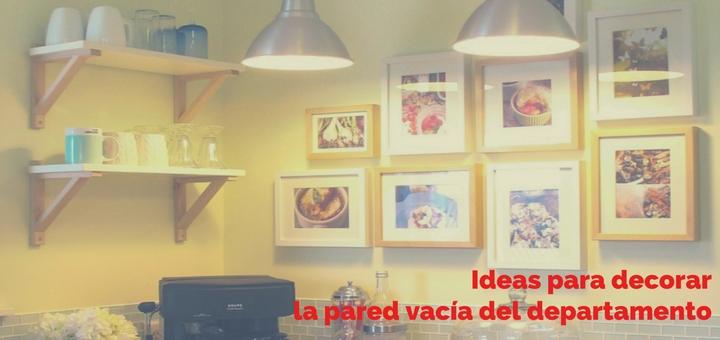 Ideas para decorar la pared vaca del departamento Ciudaris