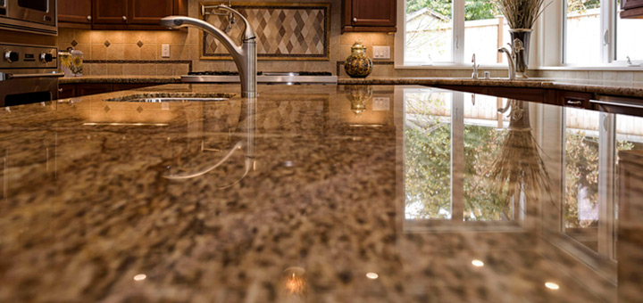 modificación de la cocina con granito