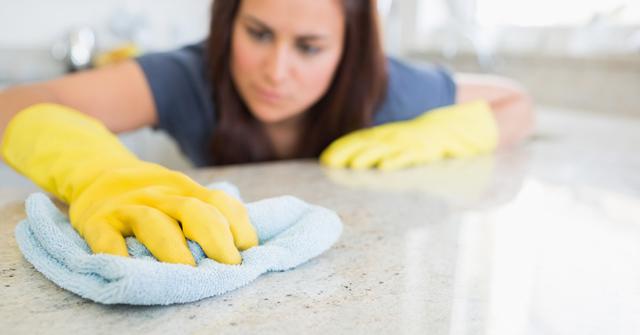 departamento nuevo limpiar granito