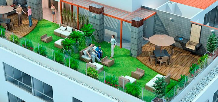 departamentos ciudad ideas aprovechar balcon terraza jardin
