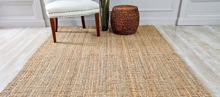 alfombras de yute y departamentos de estreno