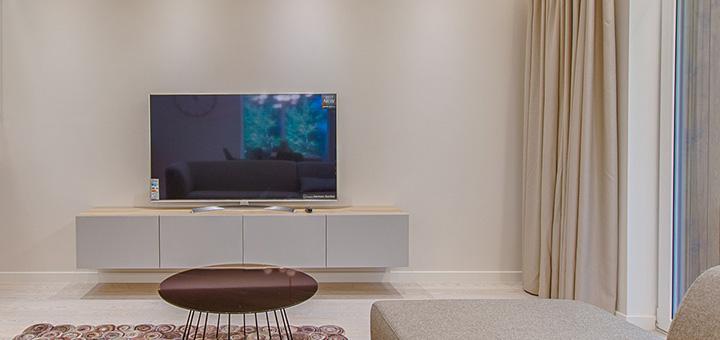 TV en departamentos de un dormitorio