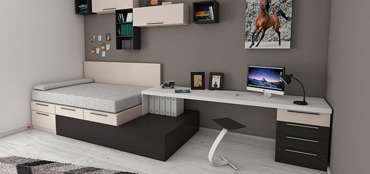 departamentos de un dormitorio y camas