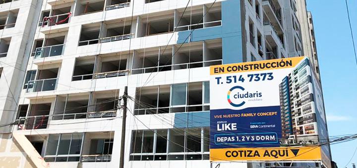 departamentos en Lima tipos de venta