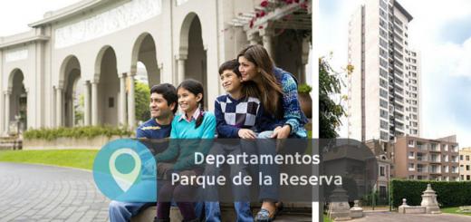 departamentos parque de la reserva lima ciudaris