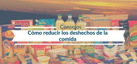reducir deshechos de comida