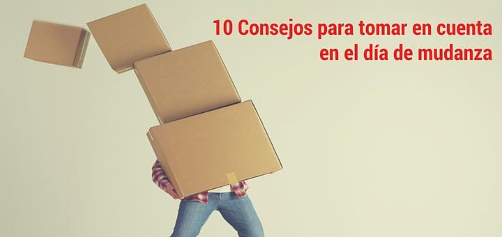 10 Consejos para tomar en cuenta en el día de mudanza 1