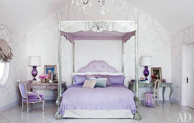 7 Dormitorios de las celebridades que te servirán de inspiración