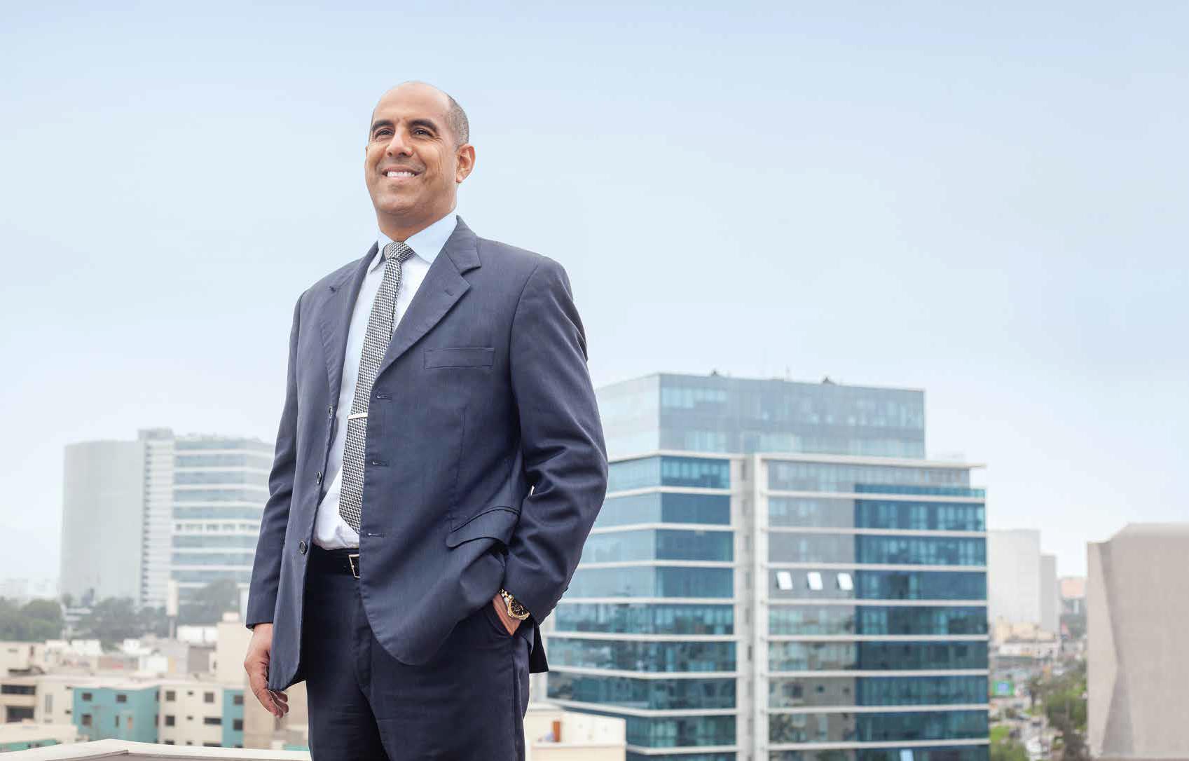 CEO de Ciudaris, Ricardo Arbulú