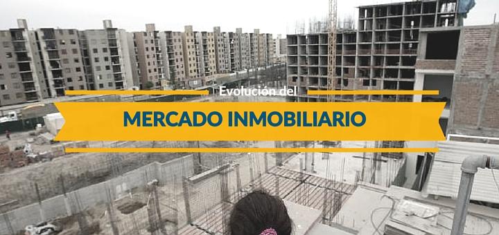 ¿Cómo ha evolucionado hasta la fecha el mercado inmobiliario en nuestro país?