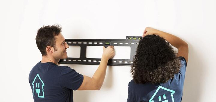 fijar soporte pared