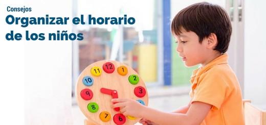 horario de niños