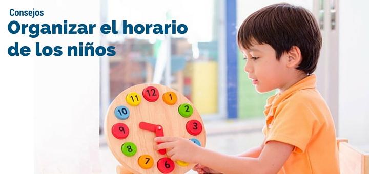 Tips para organizar el horario de los ni os blog ciudaris - Pasos a seguir para echar a tu hijo de casa ...
