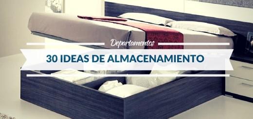 30 Ideas de almacenamiento que organizarán todo tu departamento