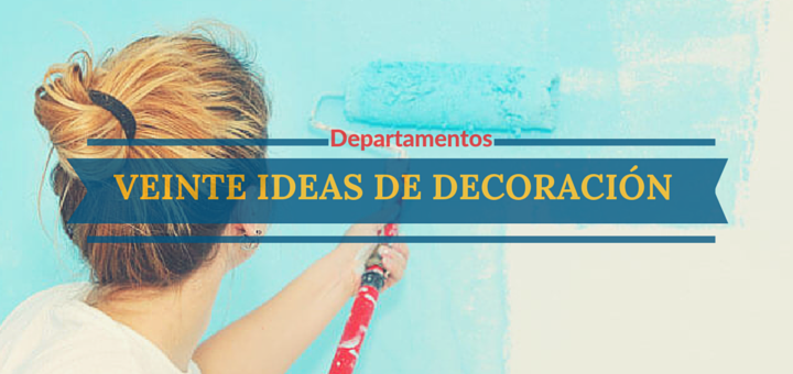 20 ideas de decoraci n de bajo costo para tu nuevo for Ideas de departamentos
