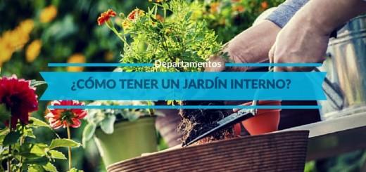 ¿Cómo construir un pequeño jardín interior en tu departamento?