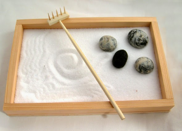 Liberpark san miguel hacer tu propio jard n zen en casa - Arena para jardin zen ...
