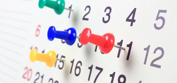 calendario para la mudanza