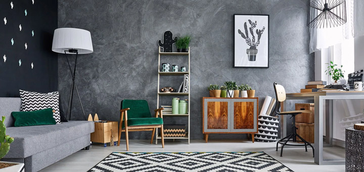 mobiliario sala departamento