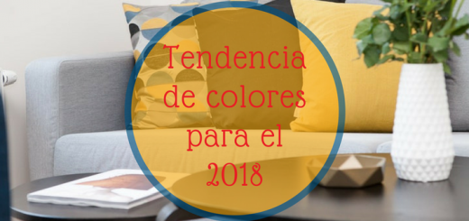 departamento tendencias colores 2018