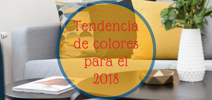 departamento tendencias colores 2018